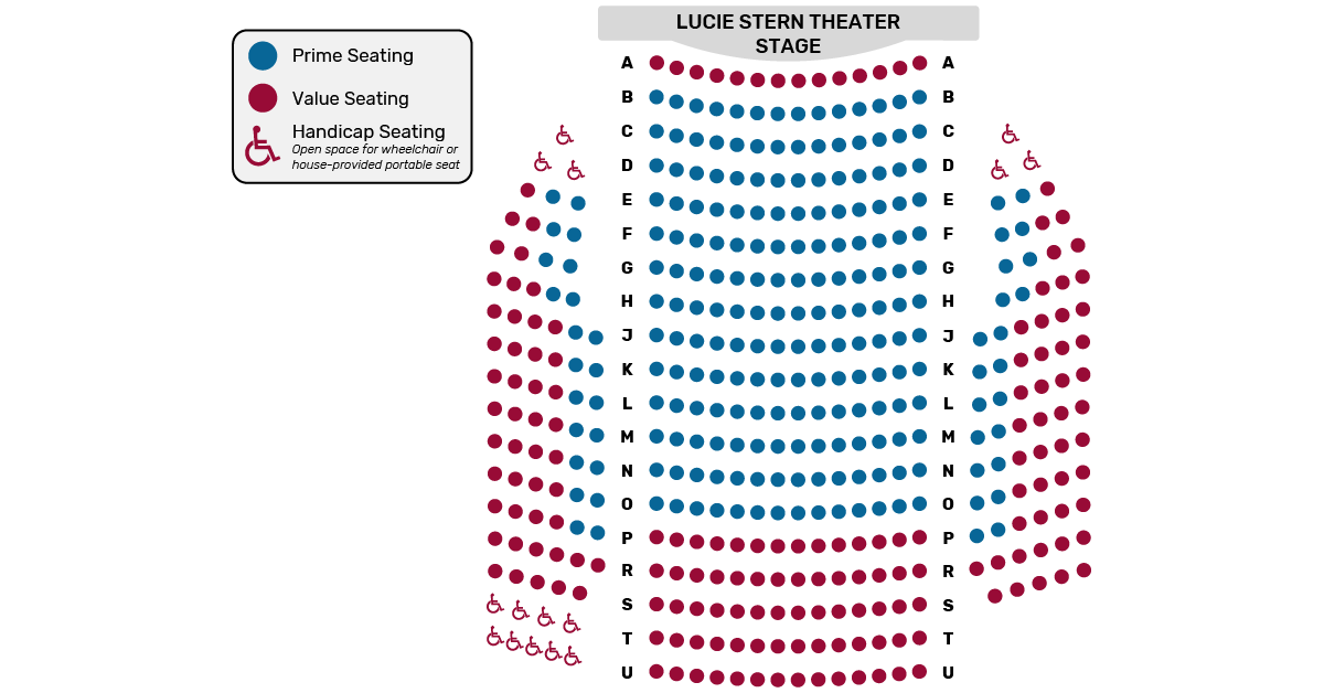 Seating Chart Palo Alto Players
